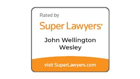 Rated by Super Lawyers - John Wellington Wesley