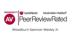 AV Peer Review Rated - Woodburn Spencer Wesley Jr.